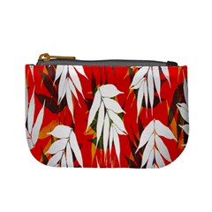 Leaves Pattern Background Pattern Mini Coin Purses