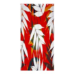 Leaves Pattern Background Pattern Shower Curtain 36  X 72  (stall)
