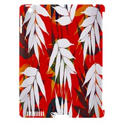 Leaves Pattern Background Pattern Apple iPad 3/4 Hardshell Case (Compatible with Smart Cover)