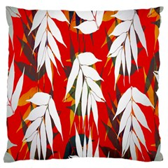 Leaves Pattern Background Pattern Large Cushion Case (One Side)