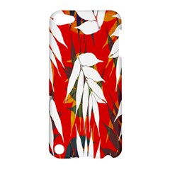 Leaves Pattern Background Pattern Apple iPod Touch 5 Hardshell Case