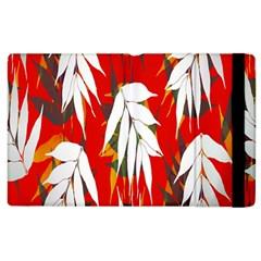 Leaves Pattern Background Pattern Apple iPad 3/4 Flip Case