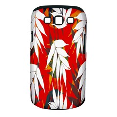 Leaves Pattern Background Pattern Samsung Galaxy S III Classic Hardshell Case (PC+Silicone)