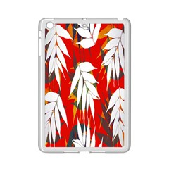 Leaves Pattern Background Pattern iPad Mini 2 Enamel Coated Cases