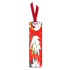 Leaves Pattern Background Pattern Small Book Marks