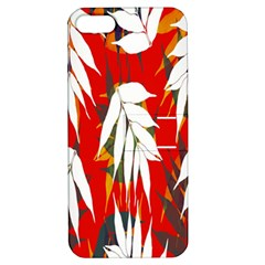 Leaves Pattern Background Pattern Apple iPhone 5 Hardshell Case with Stand