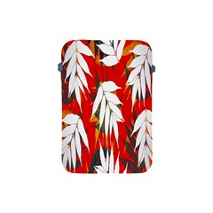 Leaves Pattern Background Pattern Apple iPad Mini Protective Soft Cases