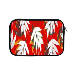 Leaves Pattern Background Pattern Apple Ipad Mini Zipper Cases