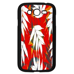 Leaves Pattern Background Pattern Samsung Galaxy Grand Duos I9082 Case (black)
