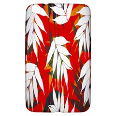 Leaves Pattern Background Pattern Samsung Galaxy Tab 3 (8 ) T3100 Hardshell Case