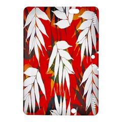 Leaves Pattern Background Pattern Kindle Fire Hdx 8 9  Hardshell Case