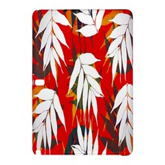 Leaves Pattern Background Pattern Samsung Galaxy Tab Pro 10.1 Hardshell Case