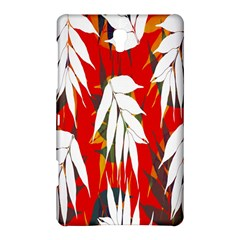 Leaves Pattern Background Pattern Samsung Galaxy Tab S (8.4 ) Hardshell Case