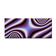 Fractal Background With Curves Created From Checkboard Cosmetic Storage Cases
