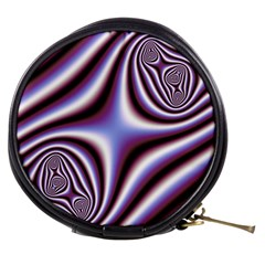 Fractal Background With Curves Created From Checkboard Mini Makeup Bags