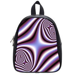 Fractal Background With Curves Created From Checkboard School Bags (small)