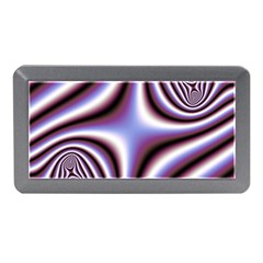 Fractal Background With Curves Created From Checkboard Memory Card Reader (Mini)