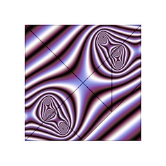 Fractal Background With Curves Created From Checkboard Acrylic Tangram Puzzle (4  X 4 )