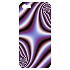 Fractal Background With Curves Created From Checkboard Apple Iphone 5 Hardshell Case