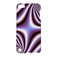 Fractal Background With Curves Created From Checkboard Apple Ipod Touch 5 Hardshell Case
