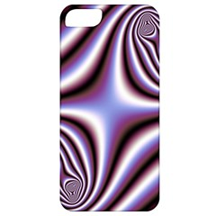 Fractal Background With Curves Created From Checkboard Apple iPhone 5 Classic Hardshell Case
