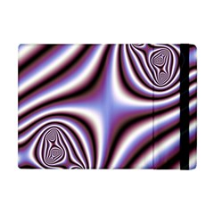Fractal Background With Curves Created From Checkboard Apple iPad Mini Flip Case