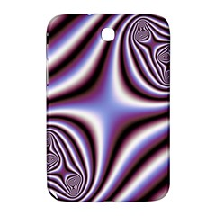 Fractal Background With Curves Created From Checkboard Samsung Galaxy Note 8.0 N5100 Hardshell Case
