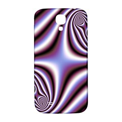 Fractal Background With Curves Created From Checkboard Samsung Galaxy S4 I9500/i9505  Hardshell Back Case