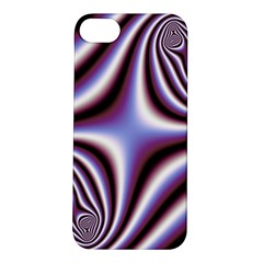Fractal Background With Curves Created From Checkboard Apple iPhone 5S/ SE Hardshell Case