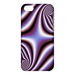 Fractal Background With Curves Created From Checkboard Apple iPhone 5C Hardshell Case