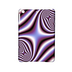 Fractal Background With Curves Created From Checkboard Ipad Mini 2 Hardshell Cases