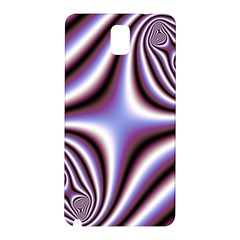 Fractal Background With Curves Created From Checkboard Samsung Galaxy Note 3 N9005 Hardshell Back Case