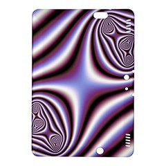 Fractal Background With Curves Created From Checkboard Kindle Fire HDX 8.9  Hardshell Case