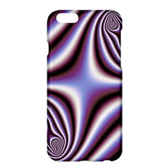 Fractal Background With Curves Created From Checkboard Apple Iphone 6 Plus/6s Plus Hardshell Case