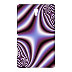 Fractal Background With Curves Created From Checkboard Samsung Galaxy Tab S (8.4 ) Hardshell Case