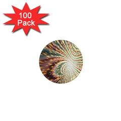 Vortex Glow Abstract Background 1  Mini Magnets (100 Pack)