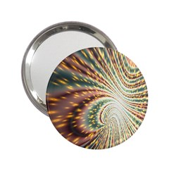 Vortex Glow Abstract Background 2.25  Handbag Mirrors