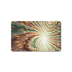 Vortex Glow Abstract Background Magnet (name Card)