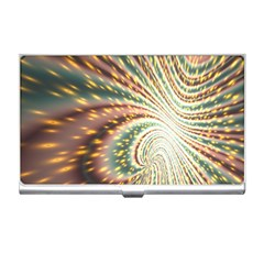 Vortex Glow Abstract Background Business Card Holders