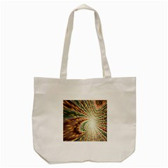 Vortex Glow Abstract Background Tote Bag (cream)