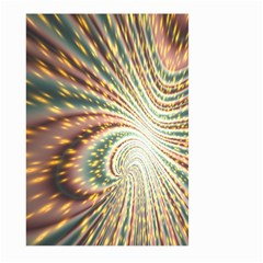 Vortex Glow Abstract Background Large Garden Flag (two Sides)