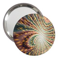 Vortex Glow Abstract Background 3  Handbag Mirrors