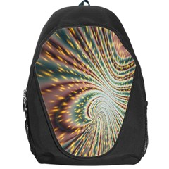 Vortex Glow Abstract Background Backpack Bag