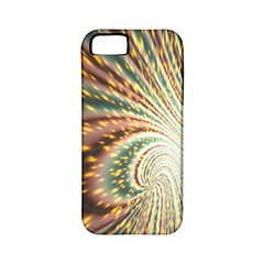Vortex Glow Abstract Background Apple iPhone 5 Classic Hardshell Case (PC+Silicone)