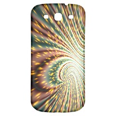 Vortex Glow Abstract Background Samsung Galaxy S3 S III Classic Hardshell Back Case