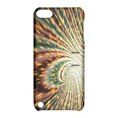 Vortex Glow Abstract Background Apple iPod Touch 5 Hardshell Case with Stand