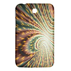 Vortex Glow Abstract Background Samsung Galaxy Tab 3 (7 ) P3200 Hardshell Case