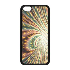 Vortex Glow Abstract Background Apple iPhone 5C Seamless Case (Black)