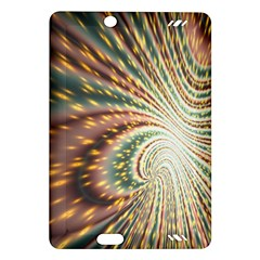 Vortex Glow Abstract Background Amazon Kindle Fire HD (2013) Hardshell Case