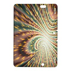 Vortex Glow Abstract Background Kindle Fire HDX 8.9  Hardshell Case